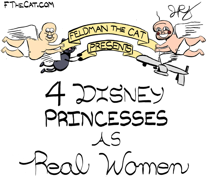 Why Are Advertisers Not Using More Real Women In Their Disney Princesses?
