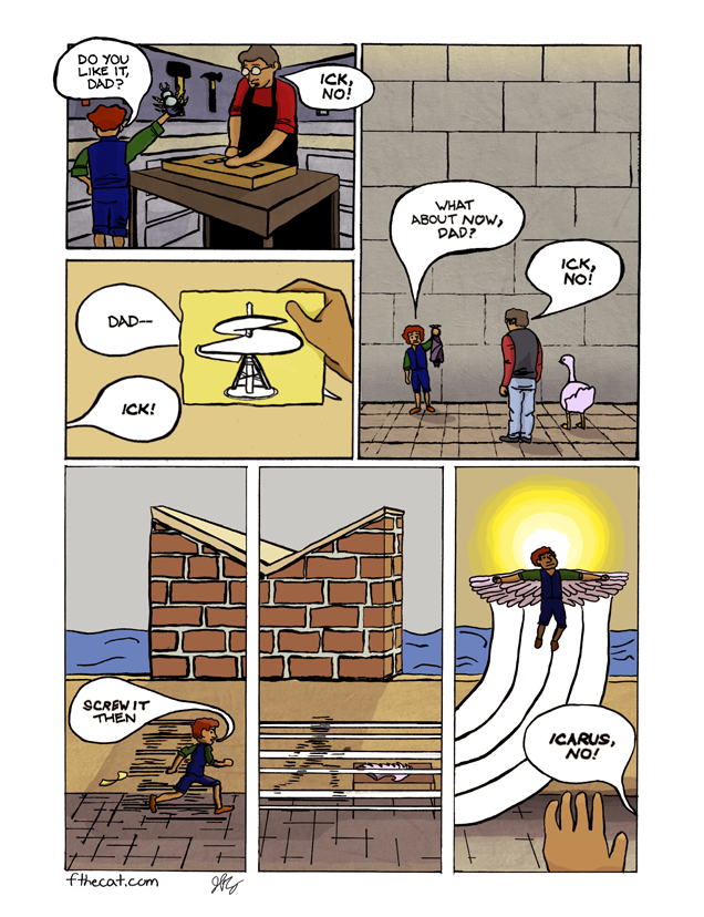 Maze Home, A Family Tragicomick